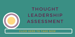 Thought Leadership Assessment